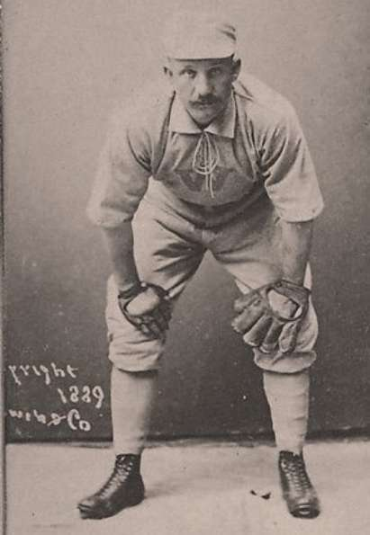 Hy Ebright With Sauer Catchers Glove