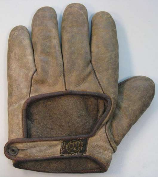 c. 1890's A.J. Reach Webless Glove Back