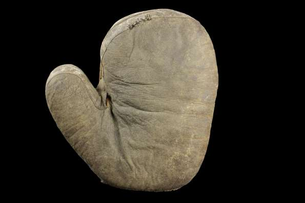 c. 1890's Early Catchers Mitten Front