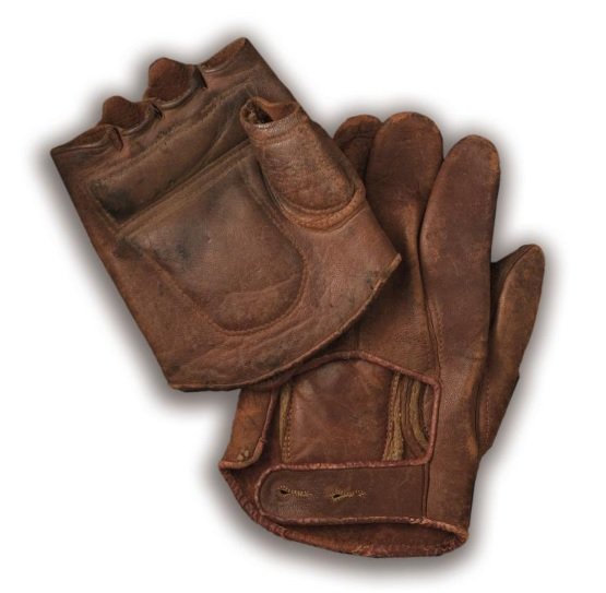 c. 1890's Fingerless Glove Set
