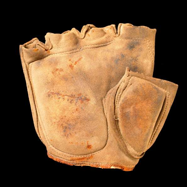 c. 1880's Fingerless Glove Front