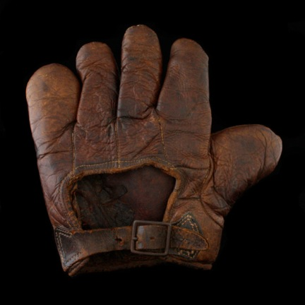 c. 1890's-00's Webless Glove Back
