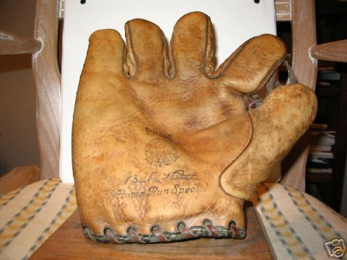 Babe Ruth Spalding Lefty Front
