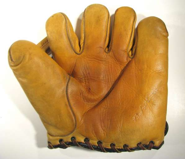 Babe Ruth Spalding Yellow Front