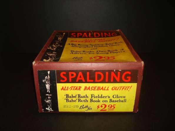 Babe Ruth Spalding 222-29 Box 1