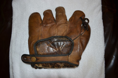 Babe Ruth Spalding Brown Back