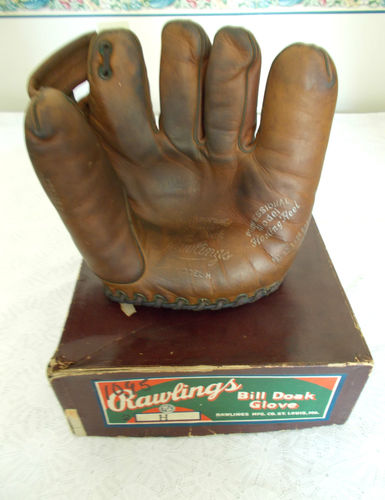 Bill Doak Rawlings H Front With Box