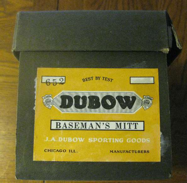 Dubow 652 Basemitt Box