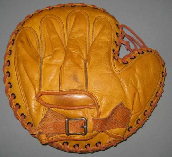Mickey Owen Dubow Catchers Mitt Back
