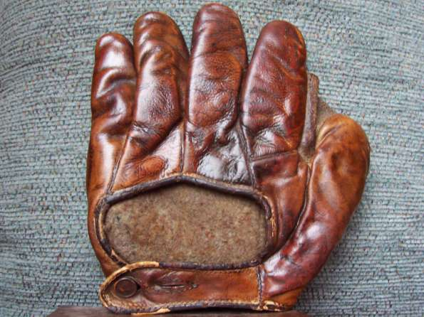 Early 1900's Crescent Glove Asbestos Back