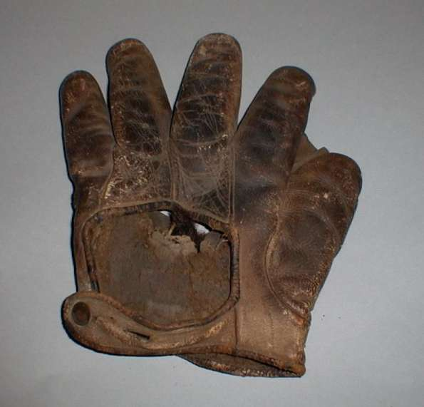 Early 1900's Crescent Glove Rough Back