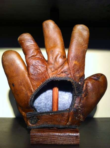 Early 1900's Webless Glove Back