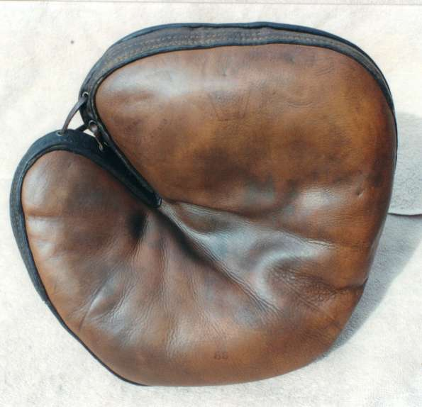 Edward K. Tryon Flat Top Catchers Mitt Front