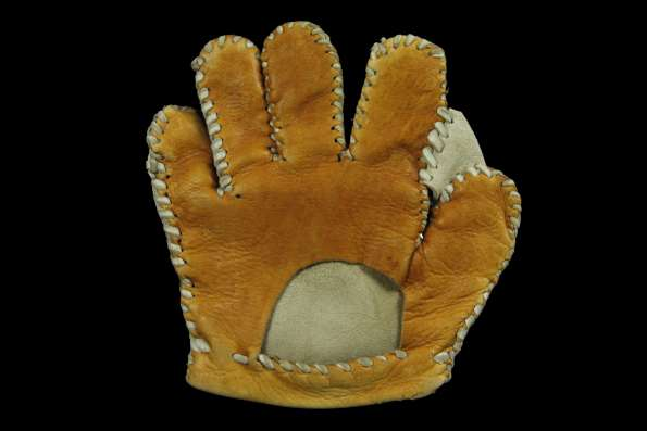 Folk Art Glove Back