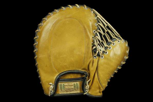 Forrest Leather Products 802F Basemitt Back