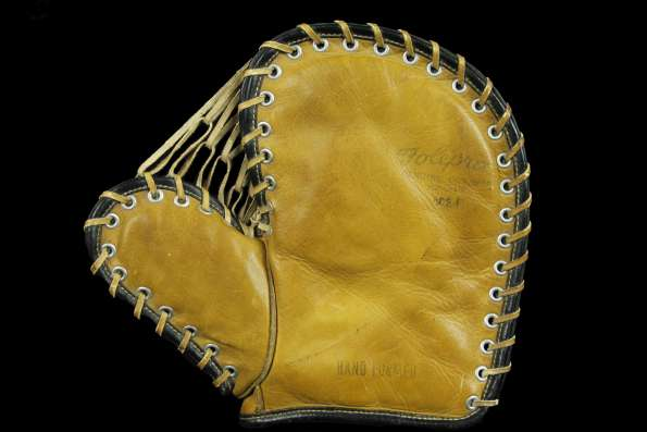 Forrest Leather Products 802F Basemitt Front