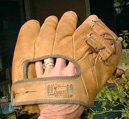 Forrest Leather Products Glove Back