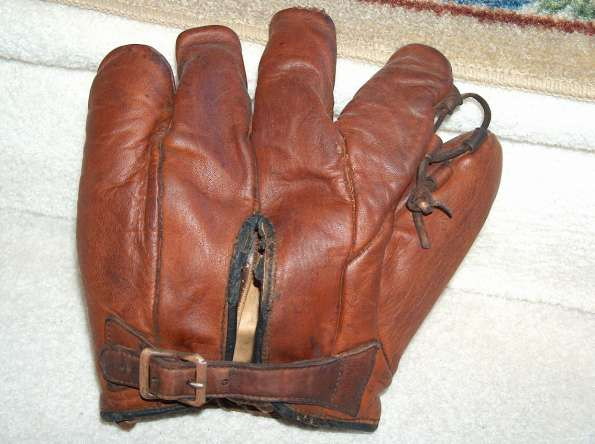 Ethan Allen Goldsmith Brown Glove Back
