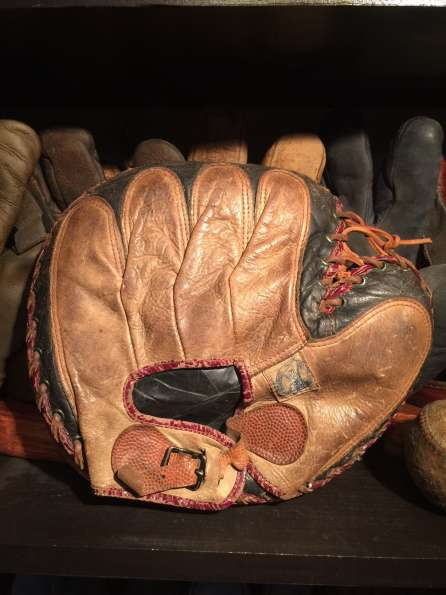 Ken Wel 9 Catchers Mitt Back