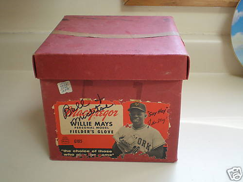 Willie Mays MacGregor G105 Box