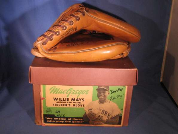 Willie Mays MacGregor G35 With Box