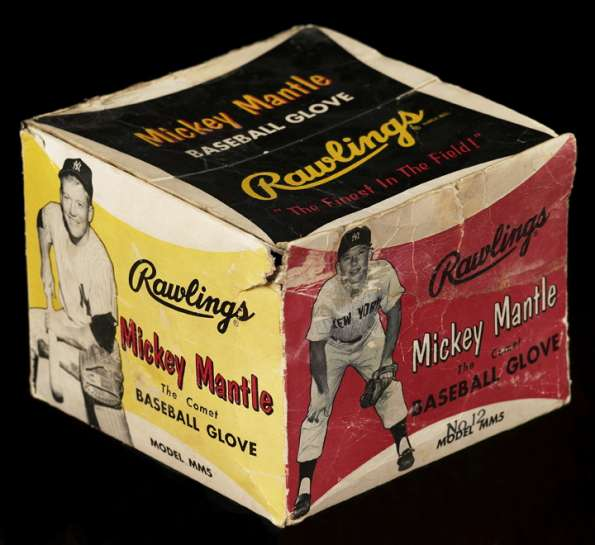 Mickey Mantle Rawlings MM5 The Comet Box