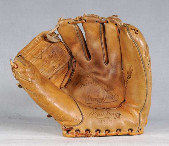 Mickey Mantle Rawlings MMP Front