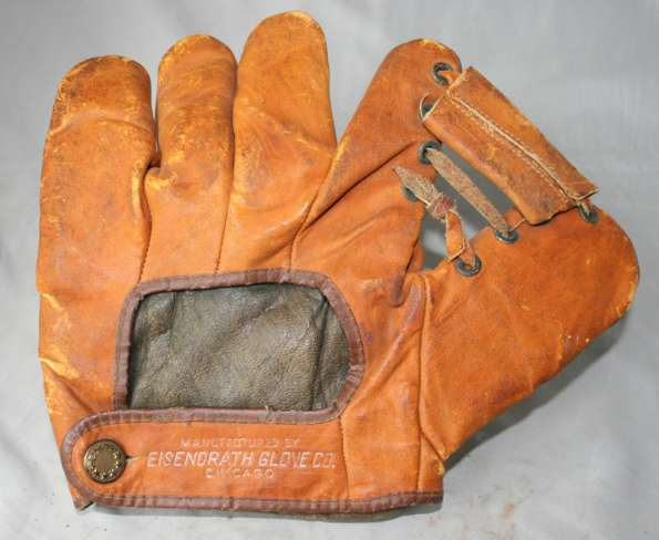 Walt Johnson Eisendrath Glove Co. Back