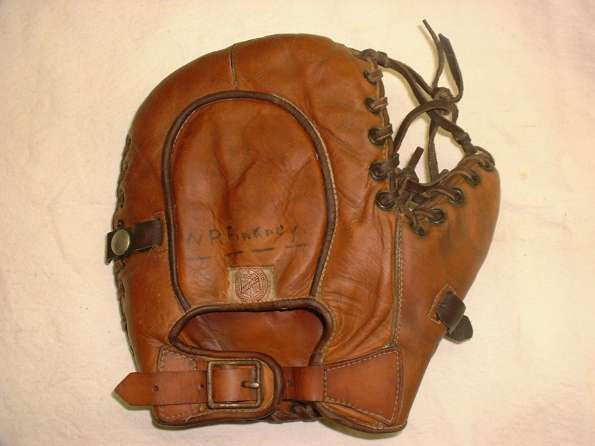 Joe Hauser Rawlings Mitt Back
