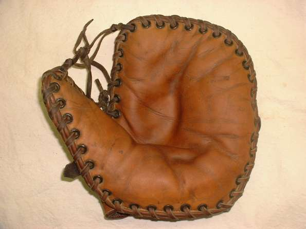 Joe Hauser Rawlings Mitt Front