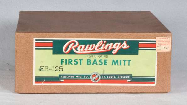 Rawlings FB 125 Basemitt Box