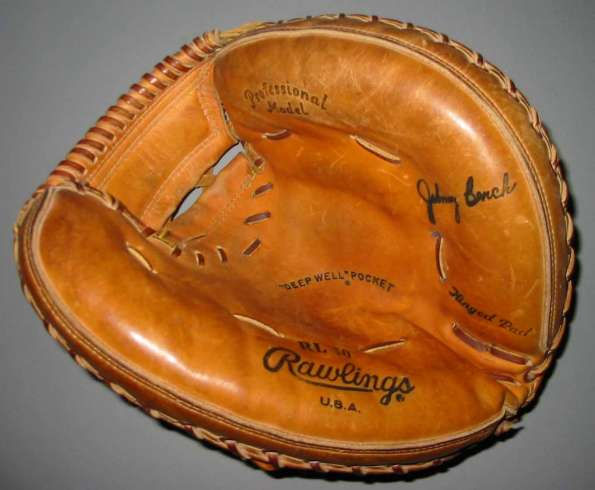 Johnny Bench Rawlings RL10 Front