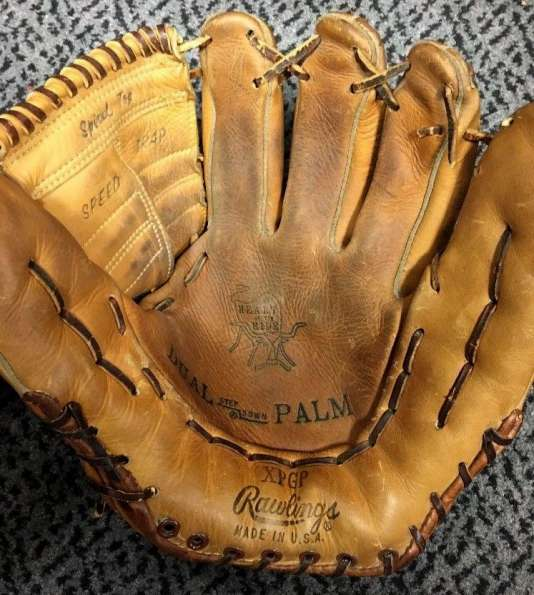 Rawlings XPGP Dual Step Down Palm Heart of the Hide Front