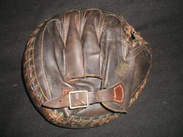 A.J. Reach Catchers Mitt 7 Back