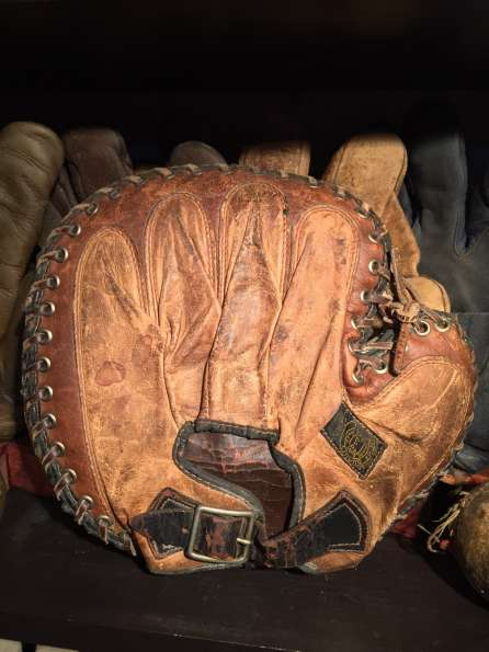 Reach 250 Catchers Mitt Back