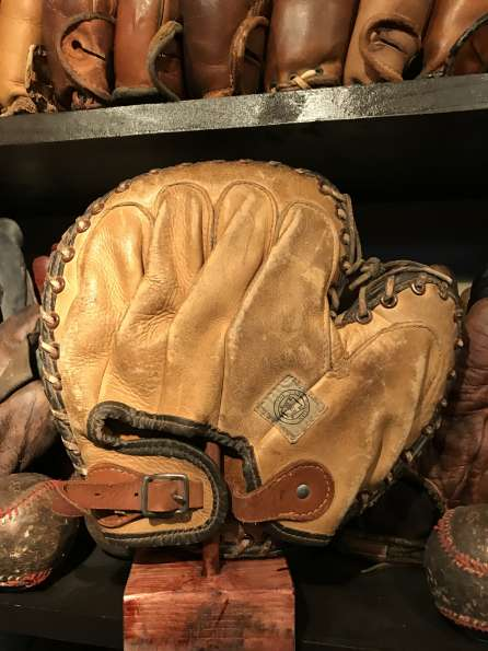 Reach Scholastic Canadian Catchers Mitt Back