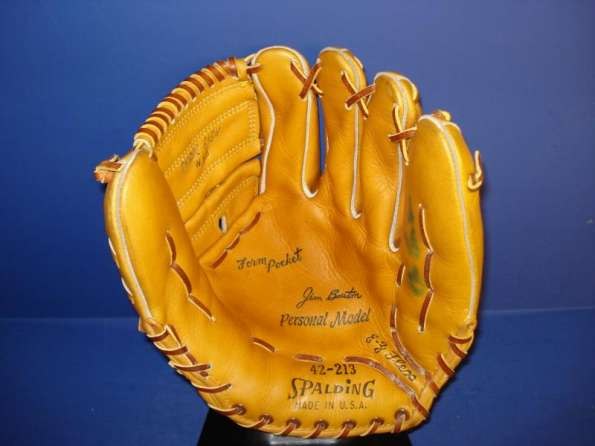 Jim Bouton Spalding 42-213 Personal Model Front