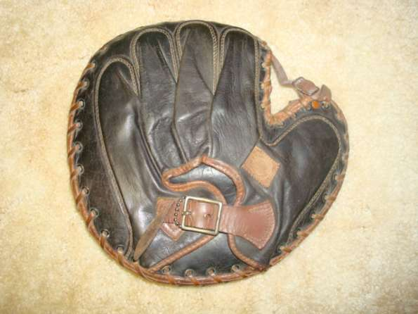 Spalding Catchers Mitt Back