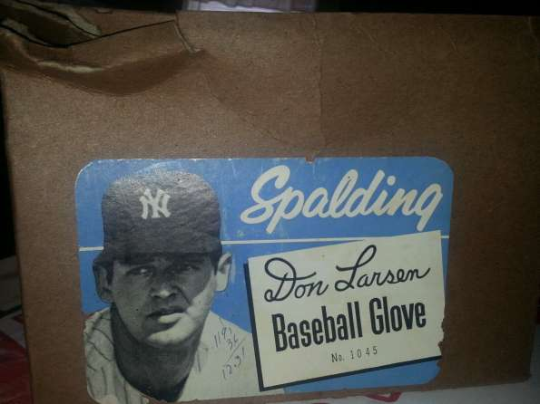 Don Larsen Spalding 1045 Box