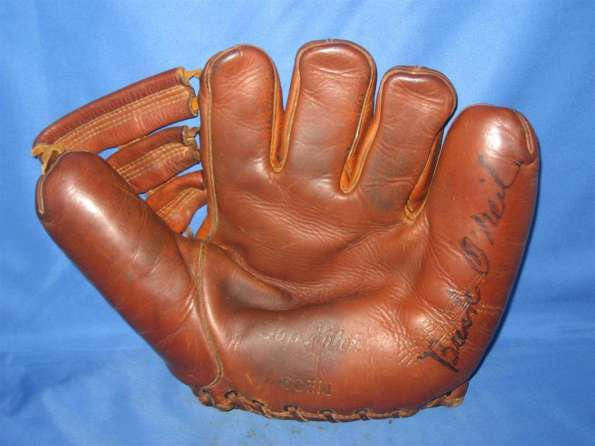Buck O'Neil Autographed Wilson Glove Front