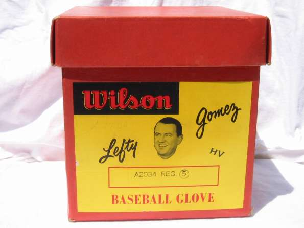 Lefty Gomez Wilson A2034 Box