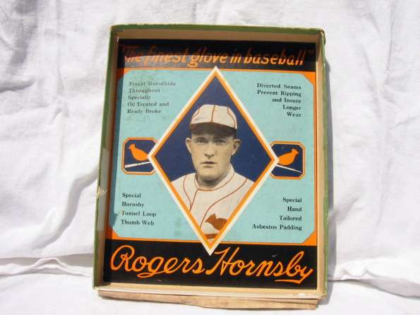 Rogers Hornsby Wilson 648L Box 1