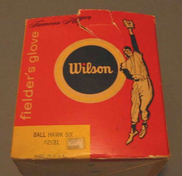Wilson A2931 Ball Hawk Six Box