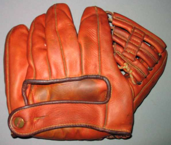Ted Williams Wilson 614 Back
