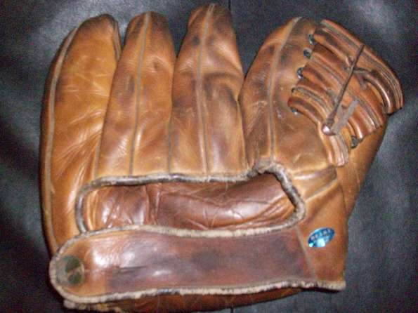 Jim Turner Wilson 608 Game Used Back