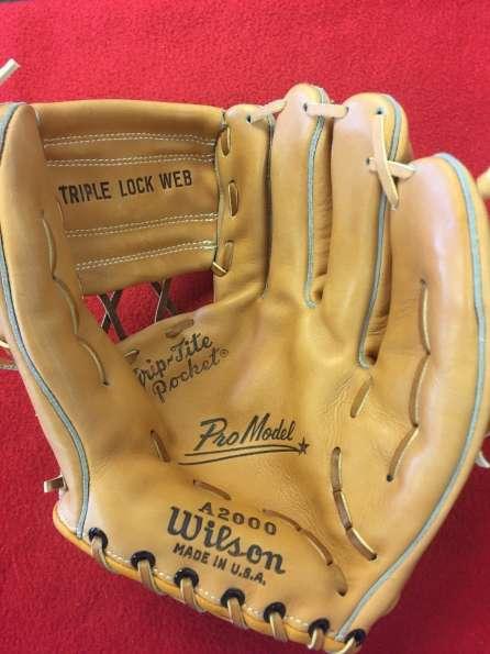 1958 Wilson A2000 Front | A2000 | Wilson | Baseball Glove Collector