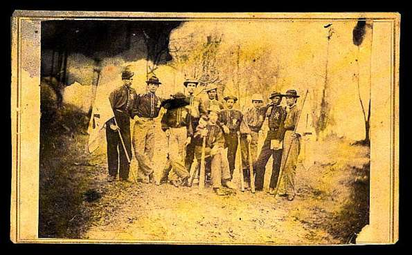 1860s Confederate Baseball