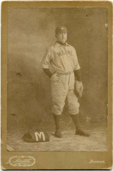 1890s Catcher Maine Cabinet