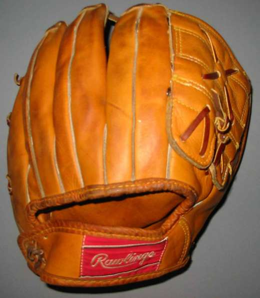 Mickey Mantle Rawlings MM5 Back