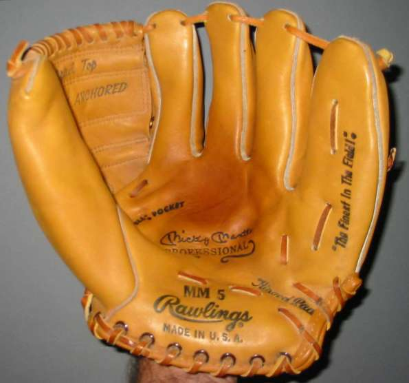 MIckey Mantle Rawlings MM5 Front